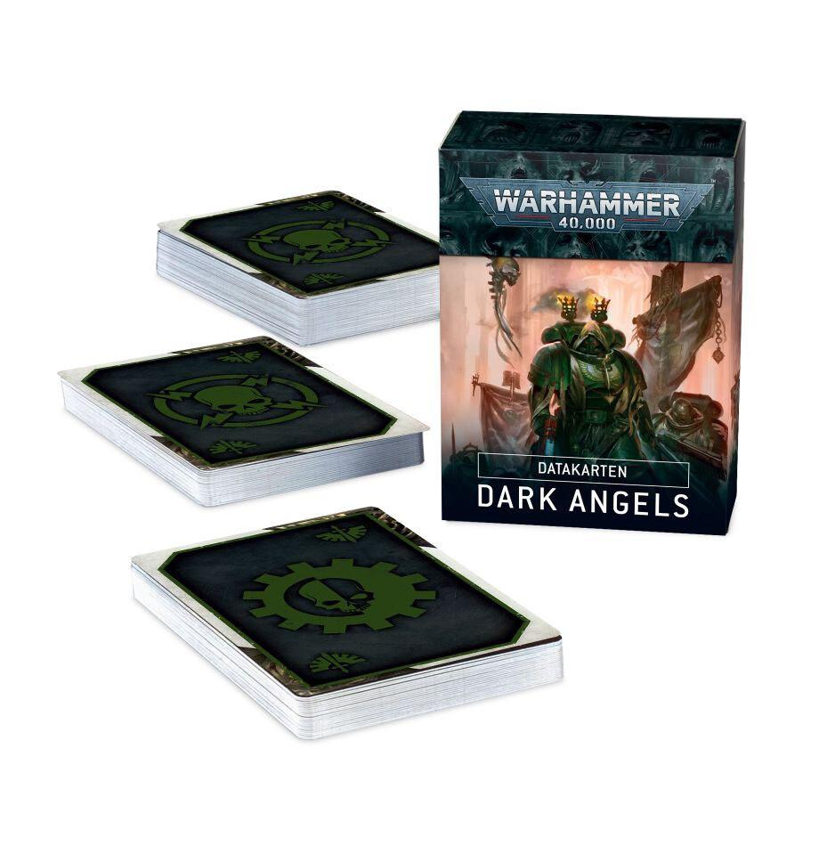 Datakarten: Dark Angels DEUTSCH - Warhammer 40.000 - Games Workshop