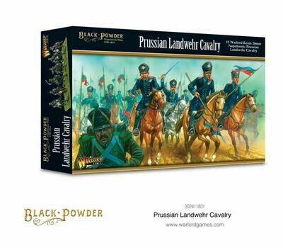 Prussian Landwehr cavalry - Black Powder - Warlord Games