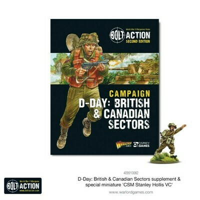 D-Day: British & Canadian Sectors - Bolt Action Theatre Book  - Bolt Action