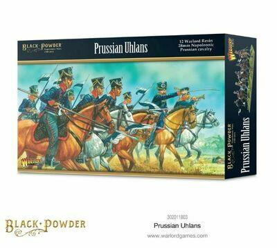 Prussian Uhlans  - Black Powder - Warlord Games