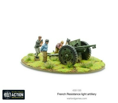 French Resistance Light Artillery - Bolt Action