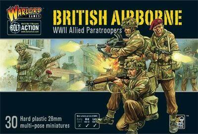 British Airborne WWII Allied Paratroopers - British - Bolt Action