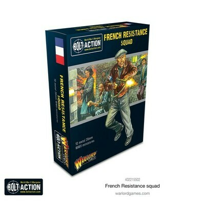 French Resistance Squad - Bolt Action - Warlord Games
