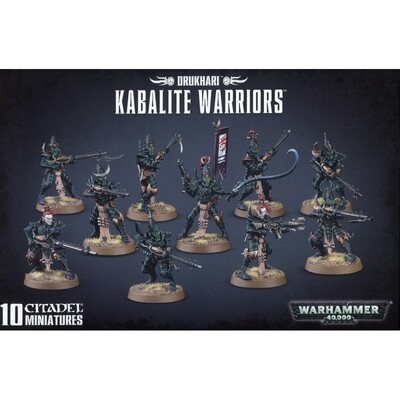 Drukhari Kabalite Warriors Kabalenkrieger - Warhammer 40.000 - Games Workshop