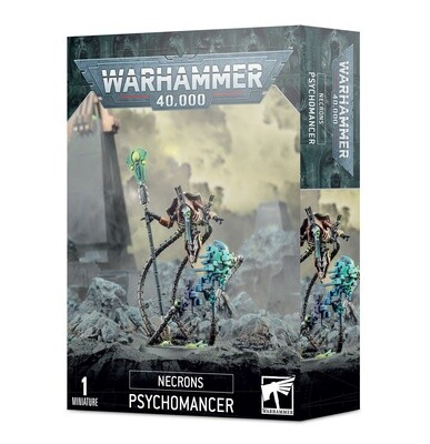 Necron Psychomant Psychomancer Necrons - Warhammer 40.000 - Games Workshop