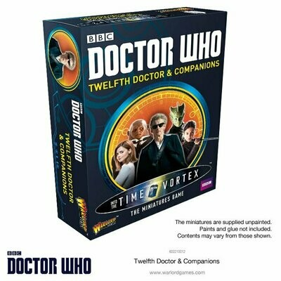 Twelfth Doctor and Companions Set - Doctor Who