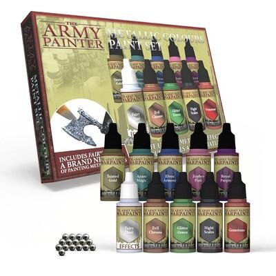 Metallic Colours Paint Set - Army Painter Warpaints