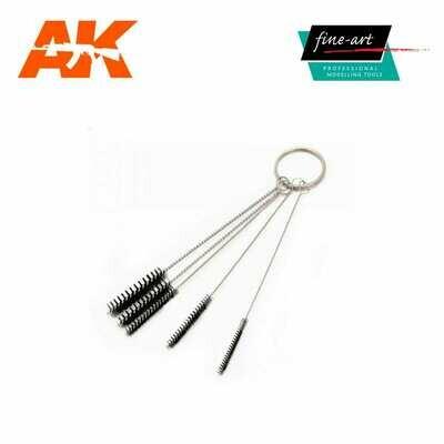Airbrush Cleaning Brush Set - AK Interactive