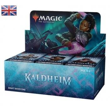 MTG - Kaldheim Draft Booster Display (36 Packs) - EN- Magic