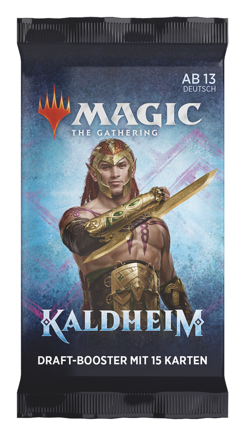 MTG - Kaldheim Draft Booster (1 Pack) - EN- Magic