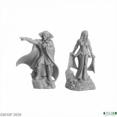 Vampire Bloodlords (2) - Bones - Reaper Miniatures