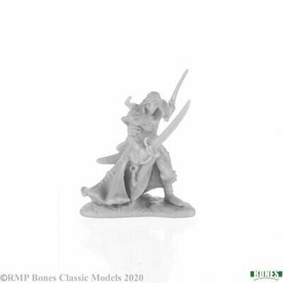 Aravir, Elf Ranger - Bones - Reaper Miniatures