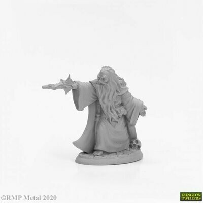 Erebus Nalas, Evil Sorcerer - Dungeon Dwellers - Reaper Miniatures