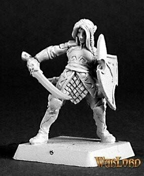 Elven Vale Warrior - Warlord - Reaper Miniatures