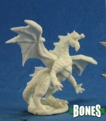Dragon Hatchling Green - Bones - Reaper Miniatures