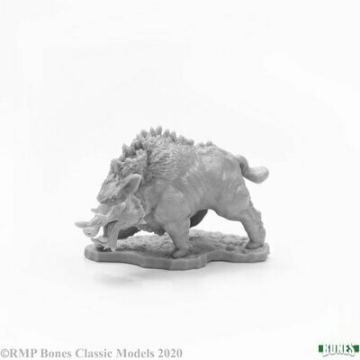 Dire Boar Wildschwein Eber - Bones - Reaper Miniatures