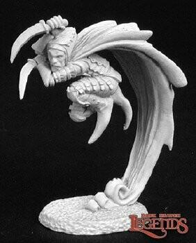 Warl Hellbore, Assassin - Reaper Miniatures