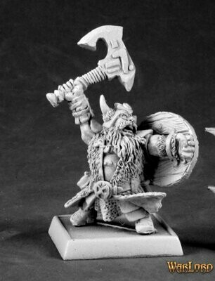 Dhulrekk Thulfinson, Rune Warrior - Warlord - Reaper Miniatures