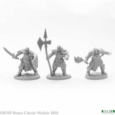 Knights of the Realm (3) - Bones - Reaper Miniatures