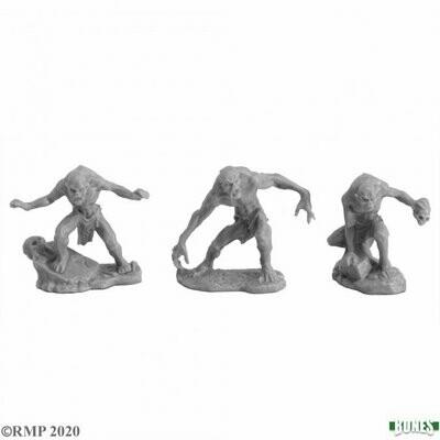 Ghouls (2) and Ghast - Bones - Reaper Miniatures