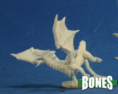 Dragon Hatchling Black - Bones - Reaper Miniatures