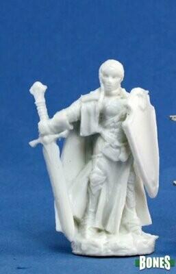 Isabeau Laroche, Female Paladin - Bones - Reaper Miniatures