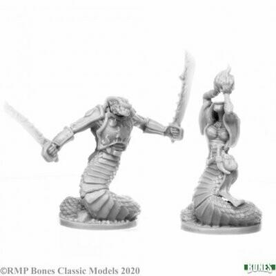 Nagendra Leaders (2) - Bones - Reaper Miniatures