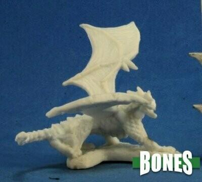 Dragon Hatchling Blue - Bones - Reaper Miniatures