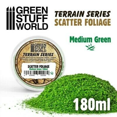 Scatter Foliage - Medium Green - 180 ml - Greenstuff World