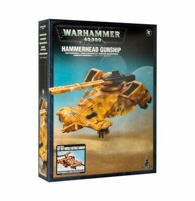 Hammerhead Gunship - Hammerhai-Gefechtspanzer - Tau - Warhammer 40.000 - Games Workshop