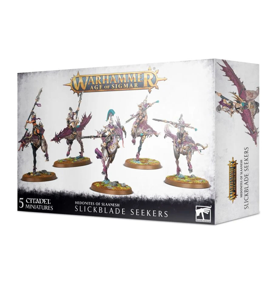 Blissbarb Seekers Slickblade Seekers - Hedonites of Slaanesh - Warhammer - Age of Sigmar - Games Workshop