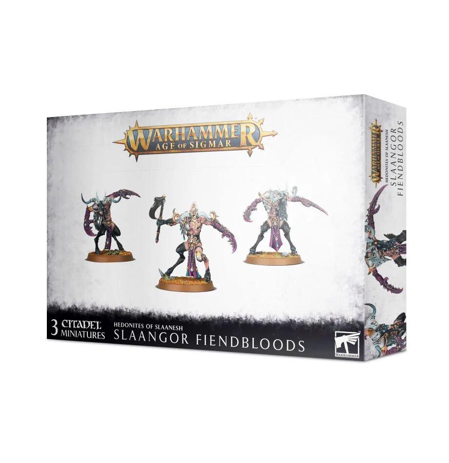 Slaangor Fiendbloods  - Hedonites of Slaanesh - Warhammer - Age of Sigmar - Games Workshop