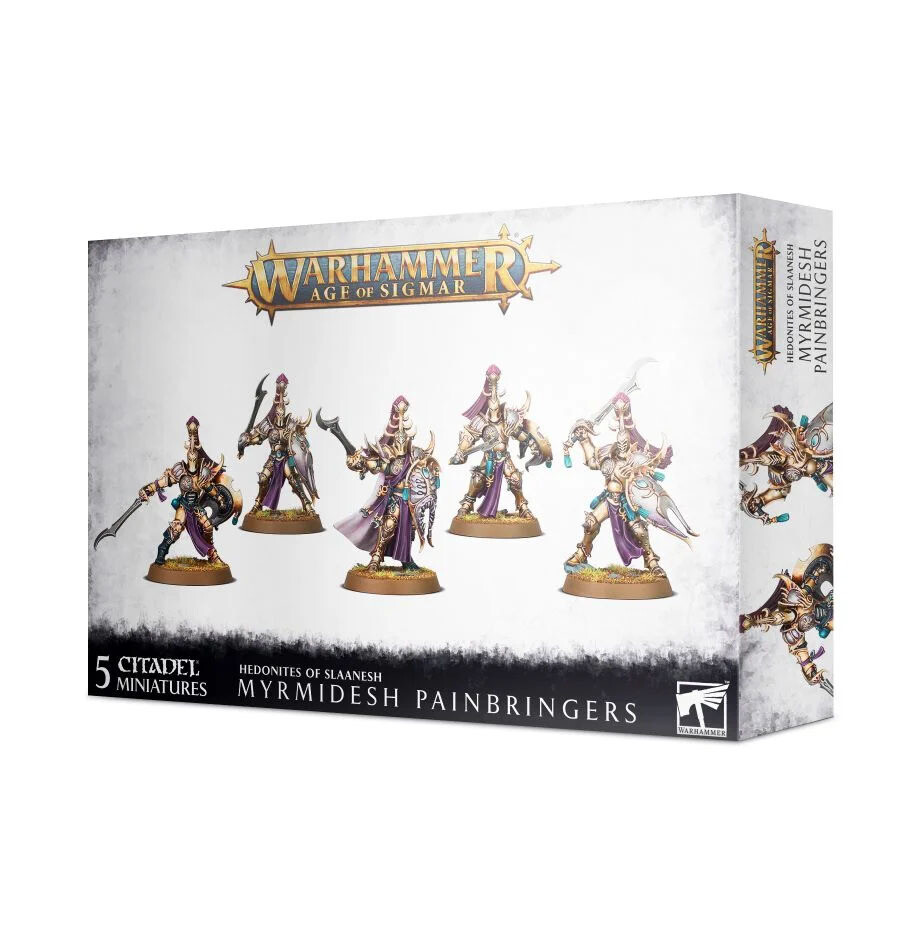 Symbaresh Twinsouls Myrmidesh Painbringers - Hedonites of Slaanesh - Warhammer - Age of Sigmar - Games Workshop