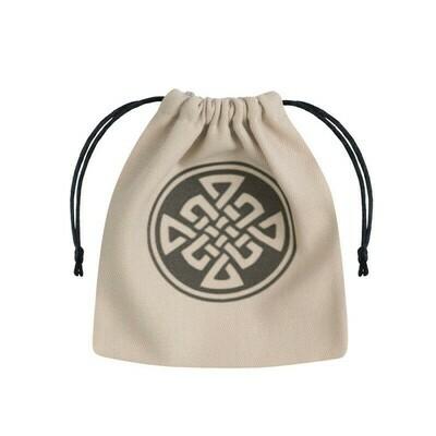 Bag Celtic Beige Dice Pouch - Würfeltasche