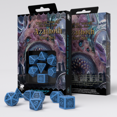 Call of Cthulhu: The Outher Gods Azathoth Set Blue/Black (7) - Q-Workshop