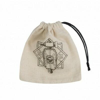 Dwarven Basic Bag Beige/Black Dice Bag - Würfeltasche