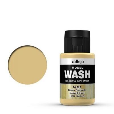 Model Wash 522 Desert Dust - Vallejo - Farben
