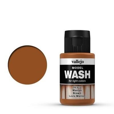 Model Wash 513 Brown  - Vallejo - Farben