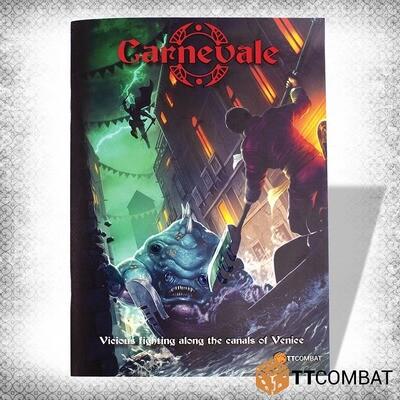 Carnevale 2- Rulebook (3rd Edition) English - TTC