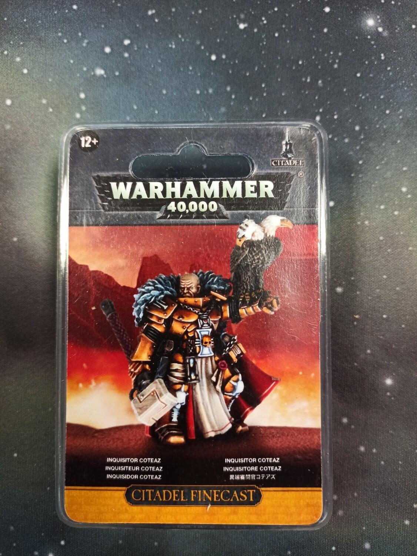MO: Inquisitor Coteaz - Warhammer 40.000 - Games Workshop