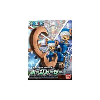 ONE PIECE CHOPPER ROBO S 3 HORN DOZER - Bandai - Gunpla