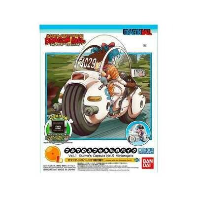 DRAGON BALL MECHA COLL BULMA CAP MOTORC - Bandai - Gunpla