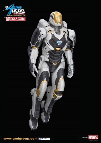 IRON MAN 3 MARK 39 STARBS 1/9 ACTION VGN - Bandai - Gunpla
