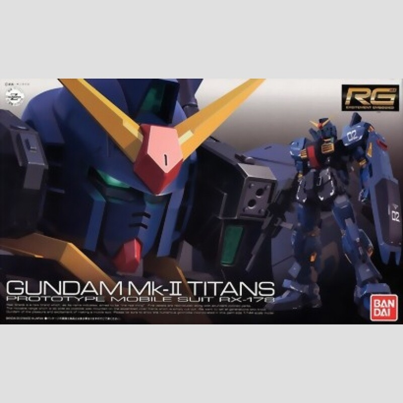 RG GUNDAM RX-178 MK II TITANS 1/144 - Bandai - Gunpla