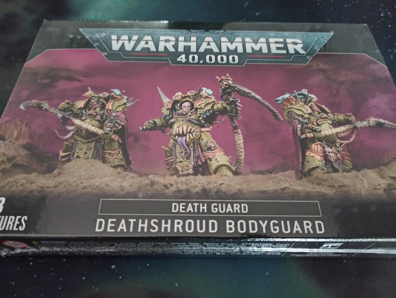 Deathshroud Bodyguard Death Guard - Warhammer 40.000 - Games Workshop