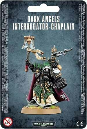 MO: Dark Angels Interrogator-Chaplain - Warhammer 40.000 - Games Workshop