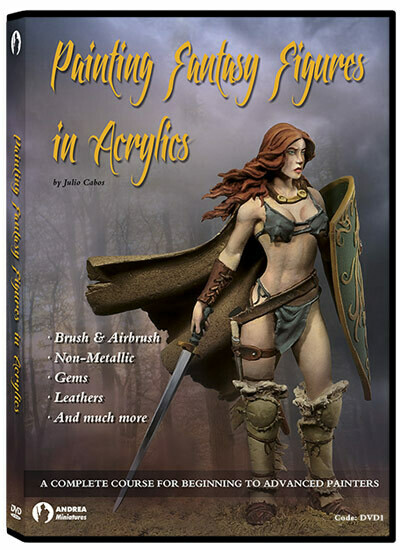 Painting Fantasy Figures In Acrylics - Andrea Miniatures
