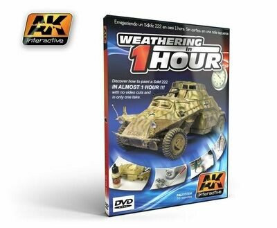 DVD Weathering in 1 HOUR (PAL) - AK Interactive