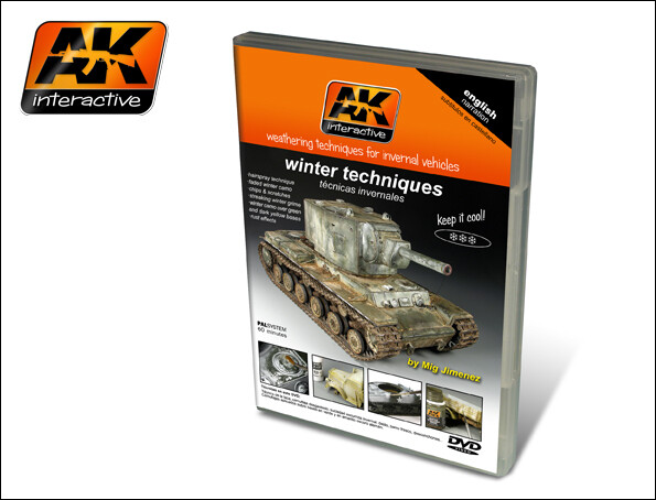 DVD Winter Techniques (PAL) - AK Interactive