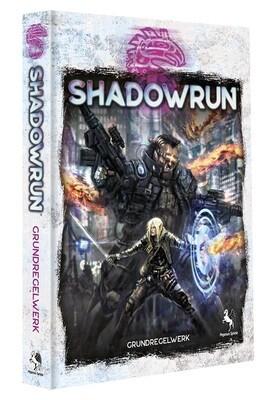 Shadowrun: Grundregelwerk, 6. Edition (Hardcover) Rollenspiel - Deutsch - Pegasus
